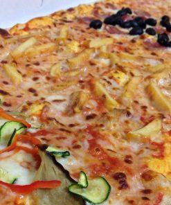 Lo schiaffo, pizza e bibita per 4 persone