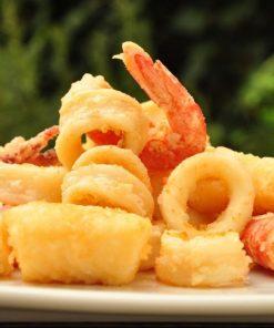 Sapori di Sicilia menù frittura di pesce