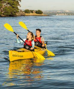 gruppo kayak lezione canoa 1 persona con istruttore