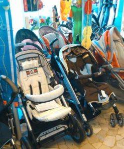 Mamadiscount sconto 40% passeggini trio usati bambino