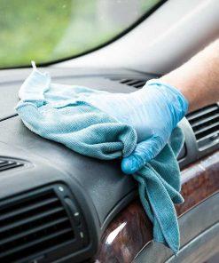 trattamento igienizzante su autovettura