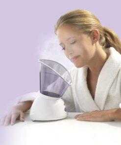 macaone pulizia viso con vaporizzatore
