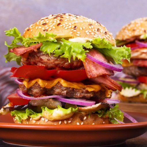 rodeo live hamburger a due piani per 2